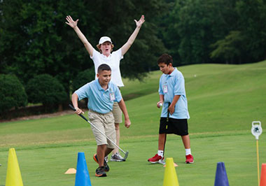 All-Star Kids Clinic at the Wyndham Championship